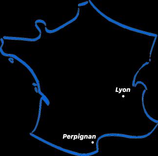 Map villes XMR